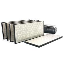 NHM 400 1000 1200 grit diamond kitchen knife sharpener professional sharpening stone fine and coarse grinding