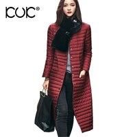 Кук зимняя куртка Для женщин пальто парка Mujer XXL плюс Размеры jaqueta feminina Inverno верхняя одежда 2017 Chaqueta casaco feminino a698