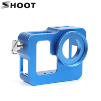 SHOOT Aluminum Alloy Protector Rugged Cage Protective Housing Case For Gopro Hero 3 3 With UV