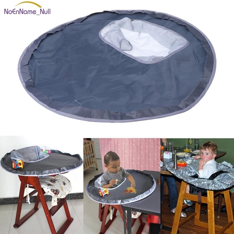 Baby Eating Table Mat Feeding Chair Cushion Waterproof Round Folding ...