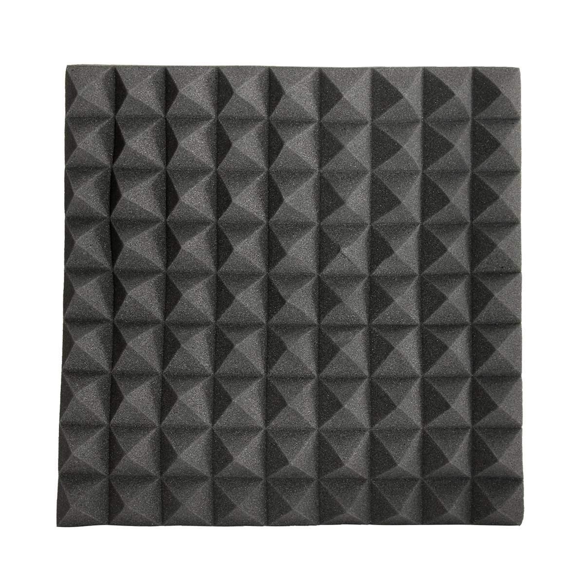 Newest 45x45x5cm soundproofing foam acoustic foam studio for Soundproof foam