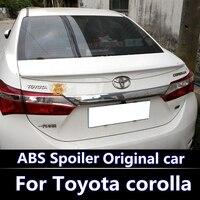 for Toyota's new Corolla spoiler for Toyota 2014 2017 new Corolla special spoiler New Corolla high quality ABS spoiler