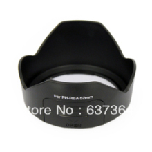 1PCS PH RBA 52mm Lens Hood For Pentax K r K m K x DA 18