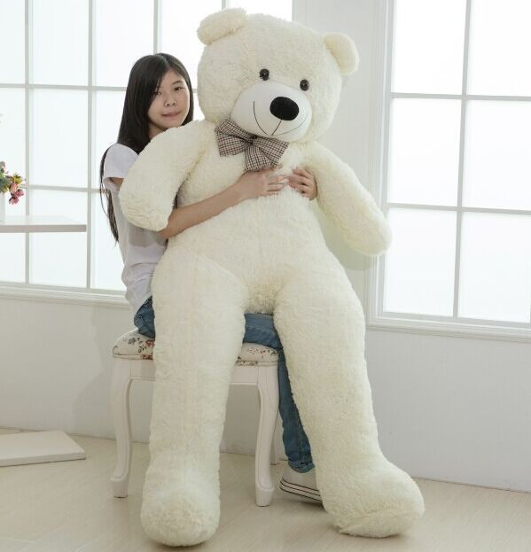 Large size 200cm giant teddy bear lovers big bear arms large dolls large size 200cm giant teddy bear lovers big bear arms large dolls birthday gift plush toy wedding bear with pp cotton quality in stuffed plush animals publicscrutiny Gallery
