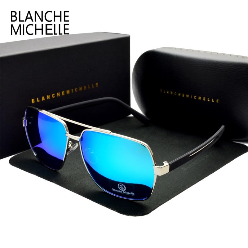 Gafas de sol cuadradas de alta calidad de los hombres polarizados - Accesorios para la ropa - foto 6