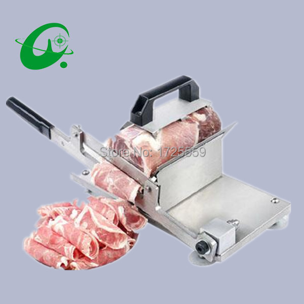 Manual meat slicer, Stainless steel Cutting meat slicer machine stainless steel manual meat slicer