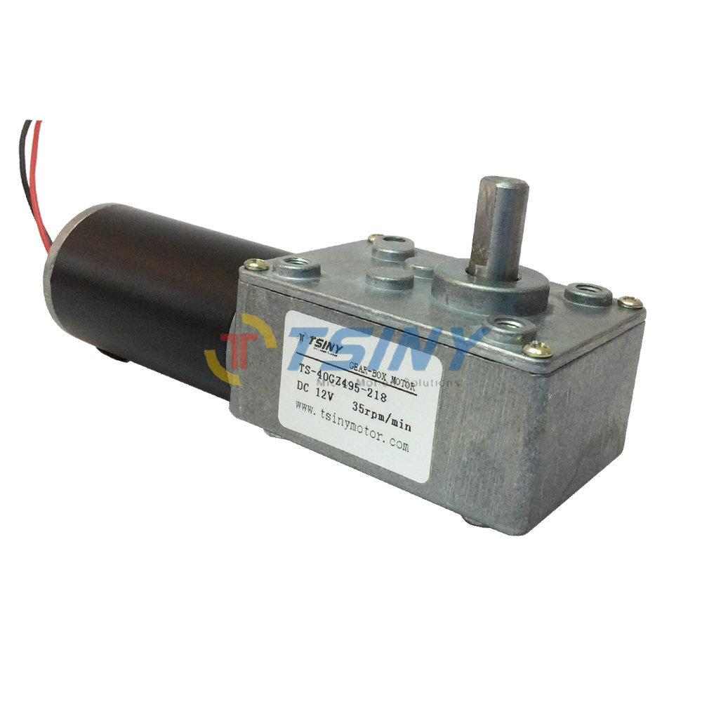 Buy high torque dc worm geared motor 12v Gearbox motors