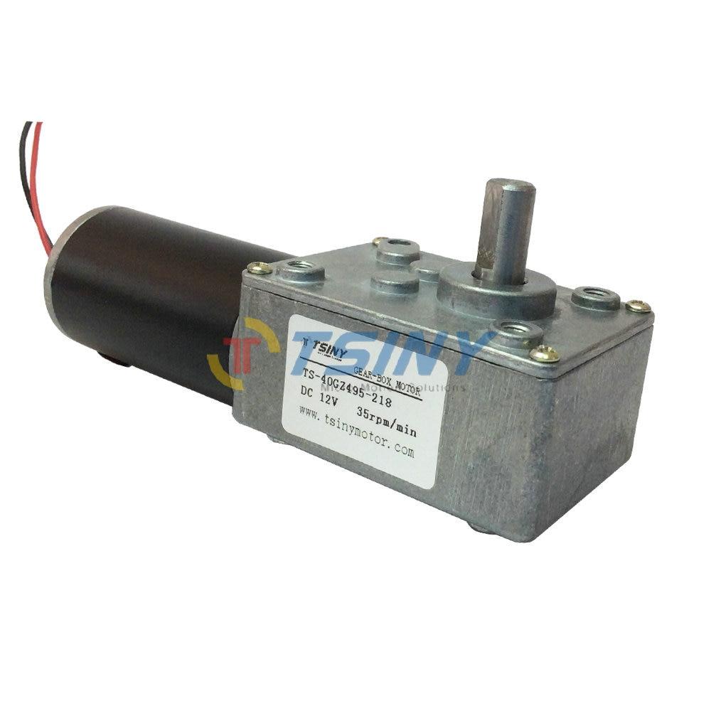 Buy High Torque Dc Worm Geared Motor 12v