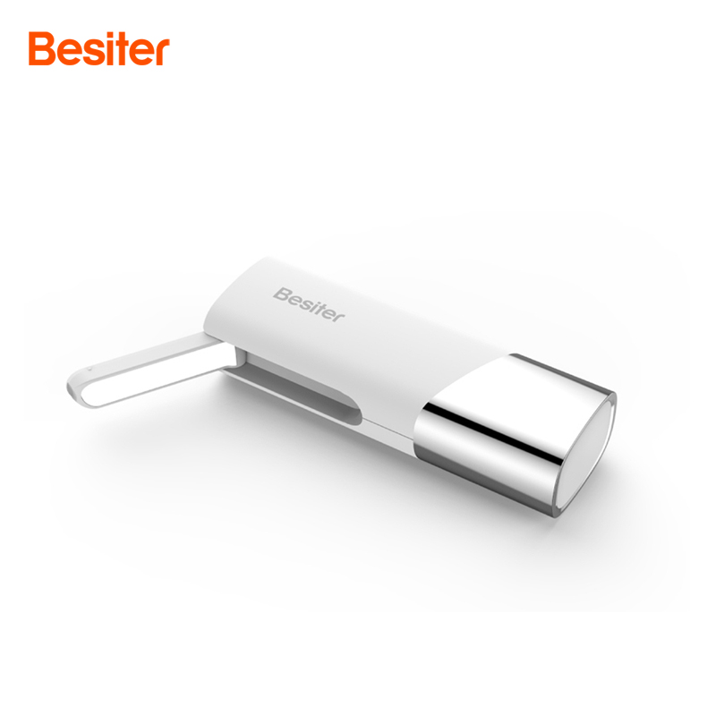 Besiter 2500mah Portable External Battery Packs For Cell Phones Battery Charging Charger With LED Lamp For Gift Power Bank