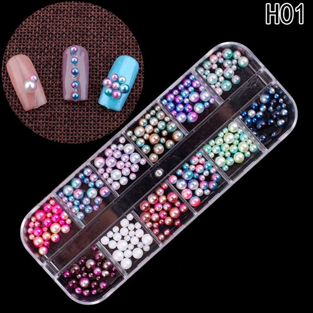 2018 Colorful Nail Art Tips Stickers 3 D Laser Makeup Manicure Diy Decals Decoration Nail Sticker Dropshipping by Discount Heh