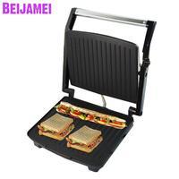Beijamei Beef steak machine 220V Electric Grill Machine Commercial Griddle steak maker sandwich breakfast machine