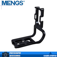 "MENGS 5D2 1/four"" Screw L-Formed Vertical Digicam Fast Launch Plate With Battery Grip Slot For 5D Mark II(14010012101)"