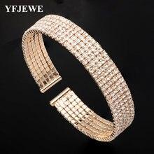 Yfjewe Новый Модный женский браслет цепочка очаровательный Женские