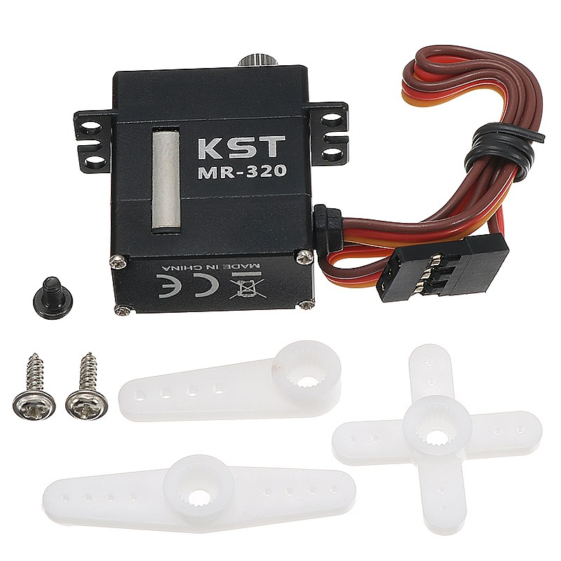 купить New Arrival KST MR320 Contactless Position Sensor Steel Gear Digital Servo 5.5Kg for Robot RC Model Helicopter Spare Parts Accs дешево