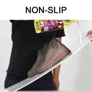 Image 3 - Anti slip Riutilizzabile TPU Scarpa Coperture Impermeabile Stivale Da Pioggia Scarpe Unisex Copertura Della Pioggia Accessori