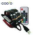 USB Kit de Iluminación de Tira LLEVADA 5050 RGB TV Fondo Cortable con Teclas del Controlador RF o Mini 3Key Controlador, 1 M/2 M Conjunto