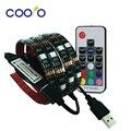 USB LED Strip 5050 RGB ТВ Фон Комплект Освещения Cuttable с 17Key РФ Контроллер или Мини 3Key Контроллер, 1 М/2 М Набор