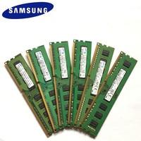 Samsung DDR3 2GB 4GB 8GB PC3 PC3L 8500U 10600U 12800U DDR3 2G 4G 8G 1066, 1333, 1600 MHZ escritorio RAM de escritorio memoria