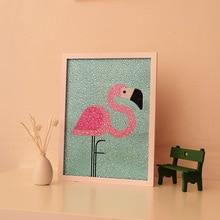 diy flamingos rhinestones dekorasi