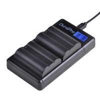 DuraPro 2x1900 mAh EN-EL15 EN EL15 batterie + LCD USB double chargeur pour Nikon D800E D800 D600 D7100 D7000 D7100 V1 appareil photo MB-D14