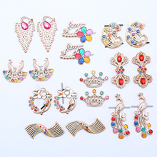 Fashion Rhinestone Inlaid Jewelry Detachable DIY Home Accessories for Shoes and Bags Multi-element Crafts