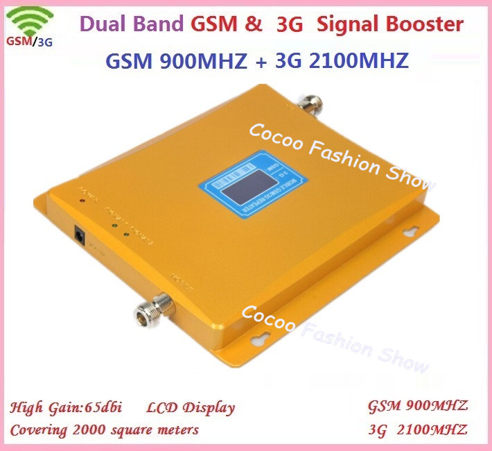 Display LCD!!! gsm 900 mhz 3g 2100 mhz dual band FDD LTE ripetitore del segnale del ripetitore, 3g GSM mobile phone signal repeater amplifierDisplay LCD!!! gsm 900 mhz 3g 2100 mhz dual band FDD LTE ripetitore del segnale del ripetitore, 3g GSM mobile phone signal repeater amplifier