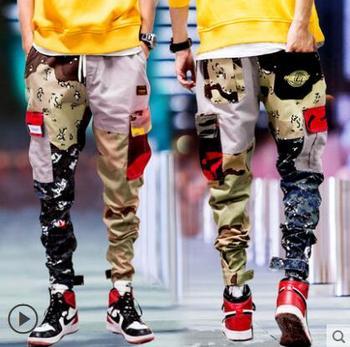 7f1cda123 Aolamegs pantalones de hombre Harlan Cargo bolsillo grueso pantalones de  chándal pantalones ...