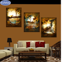 Fantasy Full Diamond Embroidery 5D Diy Diamond Painting Abstract Vintage 3d Picture Image Stitch Cross Diamond
