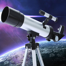 Refraction 360X50 Astronomical HD Telescope With Portable Tripod  Monocular Telescope high magnification  Observation Scope tool цена и фото