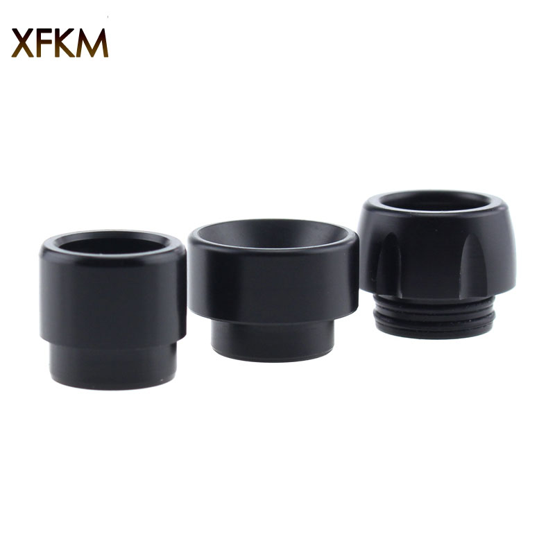 XFKM 1PC Black POM 810 Drip Tips Mouthpiece For Kennedy 24 RTA NRG Goon 810 Thread Atomizer RDA Vaporizer