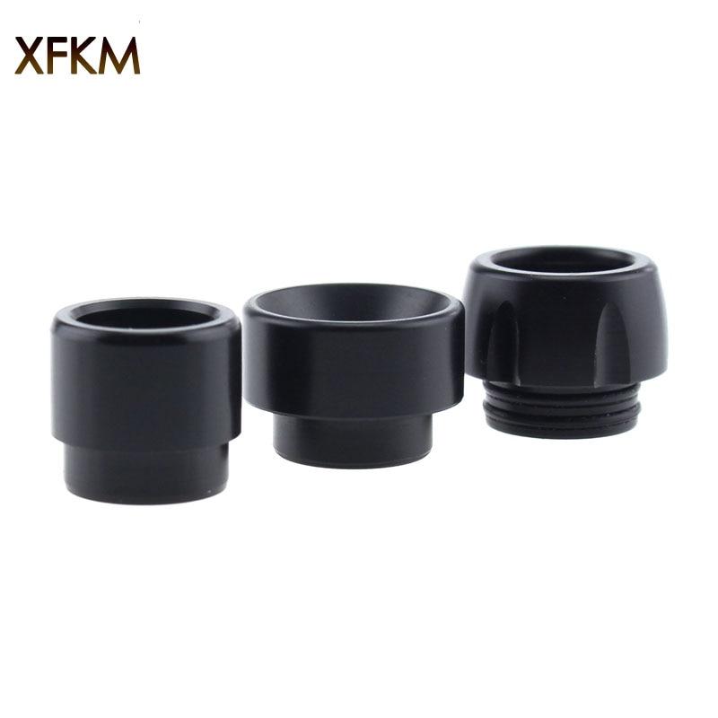 XFKM 1PC Black POM 810 Drip Tips Mouthpiece For Kennedy 24 RTA NRG Goon 810 Thread Atomizer RDA Vaporizer