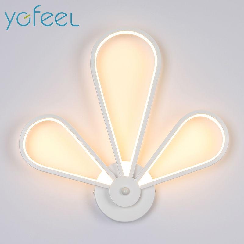 цена [YGFEEL] 34W LED Wall Lamps Modern Creative Bedroom Wall Light Living Room Foyer Decoration Corridor Stair Lighting AC90-260V в интернет-магазинах