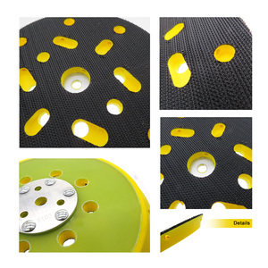 Image 4 - 6 Inch 150mm Sanding Pad Sander Backing Pad Hook and Loop with Side Holes Power Tools Accessories