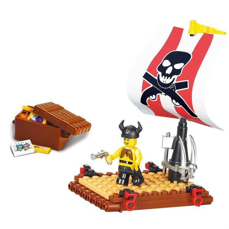 Toys Treasure Boat : Aliexpress buy sluban pirate ship treasure