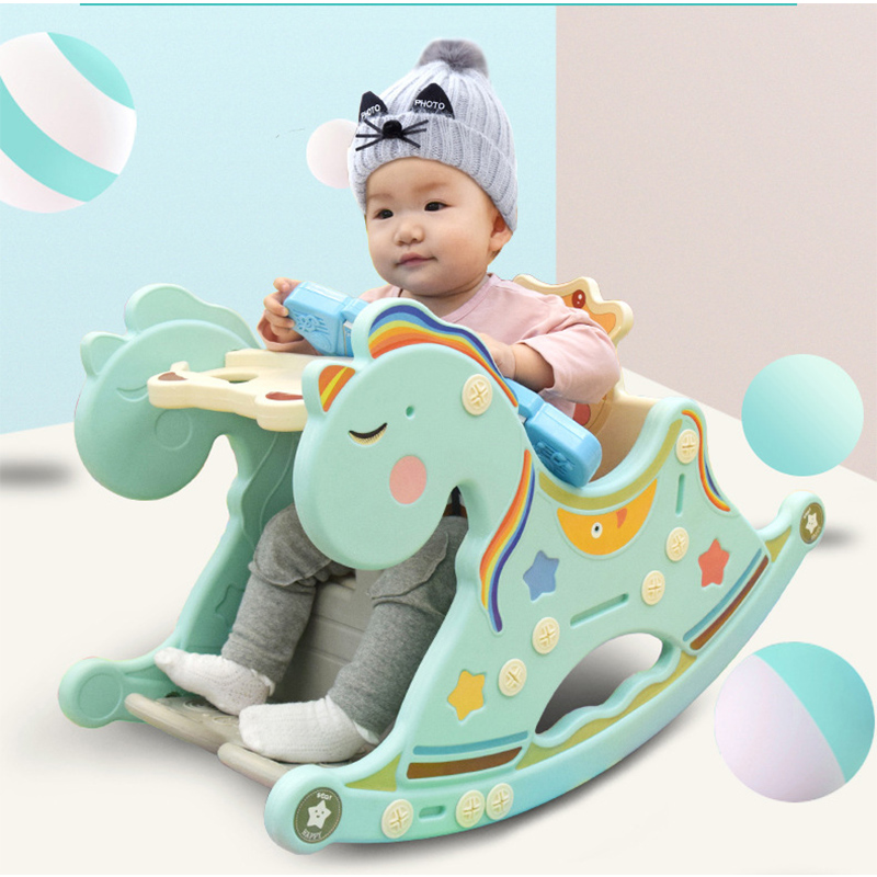 Cheval à bascule jouet salon Placarders Chaise berceau nouveau-né empereur berceau bébé Chaise à bascule musique Trojan bébé Chaise Chaise