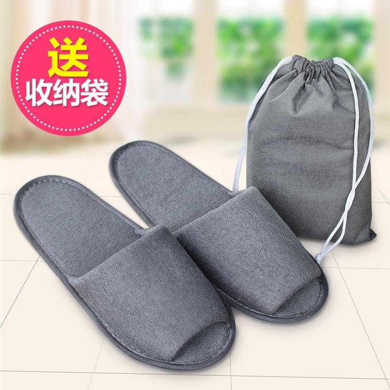 Men and women traveling portable folding font b slippers b font