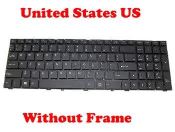 English US Keyboard For CLEVO N151RD1 N151RF1-G N151SCSD N155RD1 N155RF1-G N155SCSD N170RD1 N170RF1-G N170SCSD
