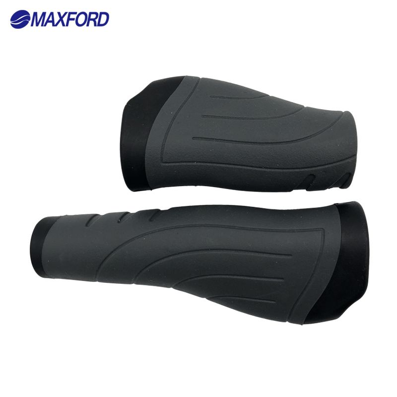 MAXFORD MTB Bicycle Grips Bike Handlebar Grips Locked Grips Mountain Bike Components Accessories Rubber Cycling Bicycle Parts