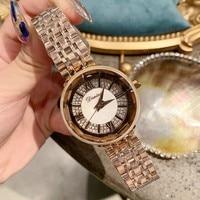2019 women's watches of the famous luxury brand Stainless Steel Quartz Bracelet Wrist Watch watch women rose gold clock women