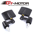 GT Motor - Motorcycle Mirror Bar End CNC Aluminum