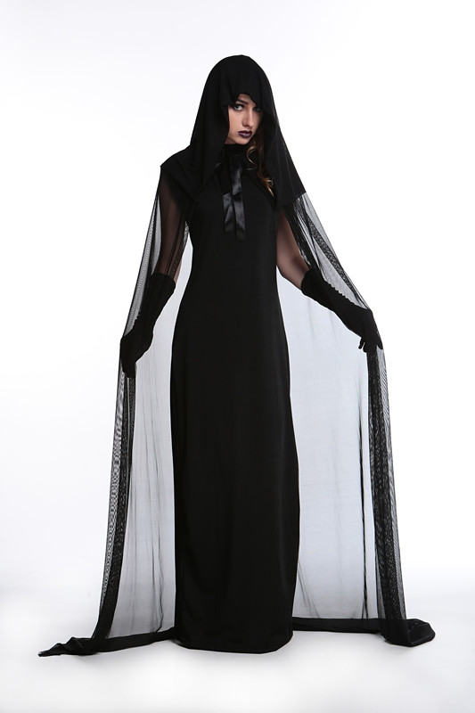 female witch style plus size maid cosplay costumes 2016 new style halloween costumes women dresses american horror story in scary costumes from novelty