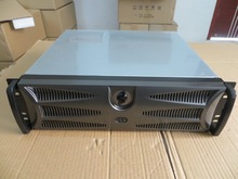 Server computer case 3U380MM belt butterfly lock 1.2 mm thickening steel short Chassis Support pc power supply