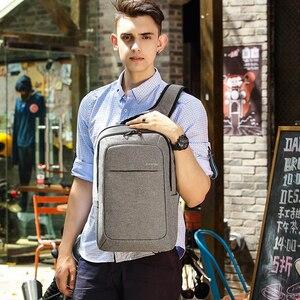 Image 4 - Tigerنو حقائب الظهر للرجال مكافحة سرقة الذكور Mochila لأجهزة الكمبيوتر المحمول 14 15 بوصة حقائب كمبيوتر محمول الرجال على ظهره حقيبة ظهر مدرسية