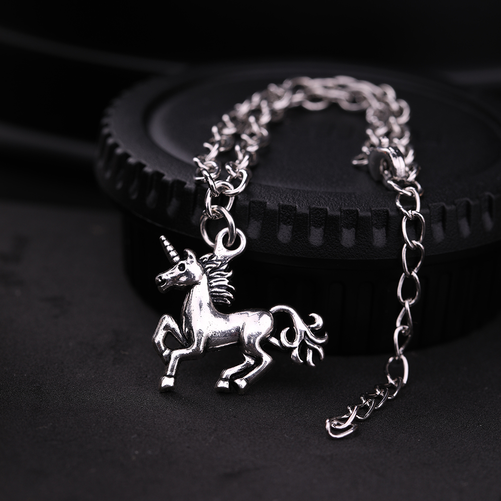 Silver Plated Fashion Charm Bracelet 4