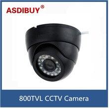 1/4″ Color CMOS CCTV Camera 800TVL High Resolution 24 IR LEDS Wide Angle Security Surveillance Indoor Dome Camera PAL