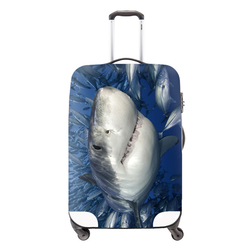 Elastic Style Travel Accessories for 18-30 inch Suitcase Cute Waterproof Owl Luggage Protect Cover Fashion Suitcase Covers