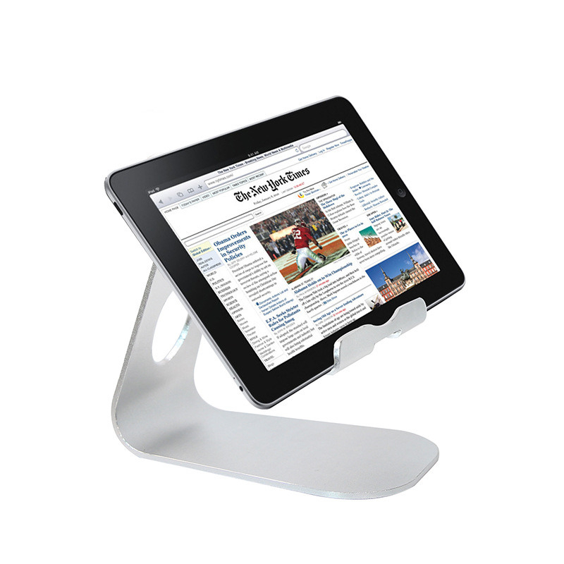 Universal degree Adjustable Aluminum alloy Tablet Stand Holder For 4-12  Inch Ipad 2 3 4 Air Mini Samsung Bed desk Mount Tablets