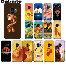 The Lion King Soft Silicone TPU Phone Cover case For Samsung Galaxy s9 s8 plus note 8 note9 s7 s6edge Babaite