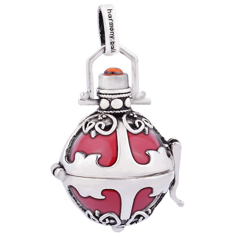 Trendy Colorful Copper Jewelry Angel Caller Pendant For Pregnant Women Wholesale 18*16 mm Harmony Ball Jewelry H54-18