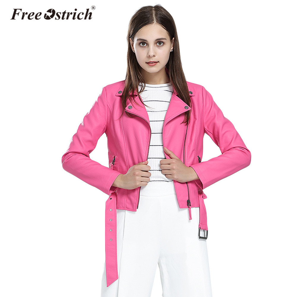 Jacket women winter 2018 clothing zipper pockets slim solid bomber coat chaqueta mujer outerwear d40